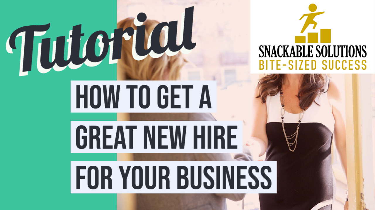 how to get a great new hire for your business