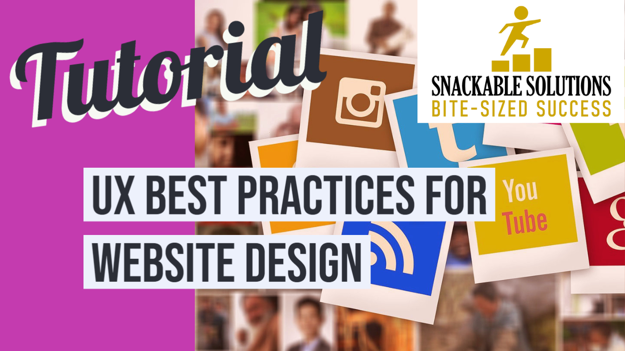 UX best practices for website design
